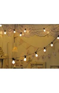 Как с помощью обычных лампочек украсить интерьер