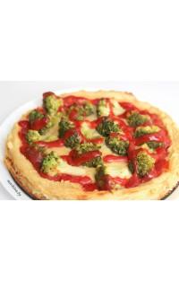 Картофельная пицца с брокколи (постная)