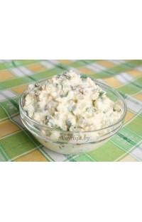 Салат «Яйцо и лук»